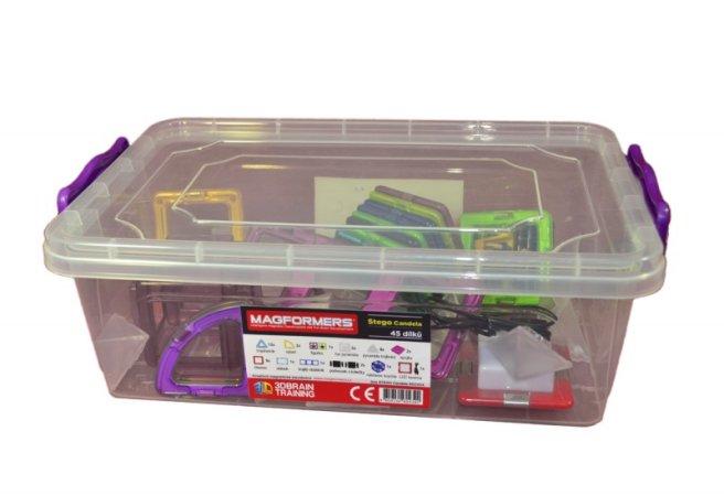 Magformers Stavebnice Magformers - Stego Candela box