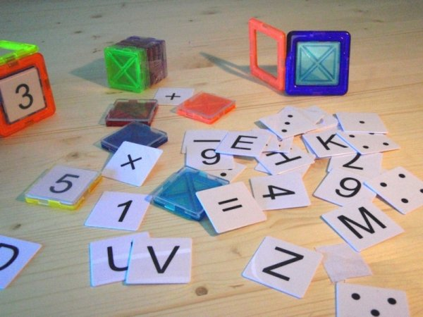 Magformers Stavebnice Magformers - Panely ABC