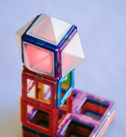 Magformers Stavebnice Magformers - Lux-pyramidy