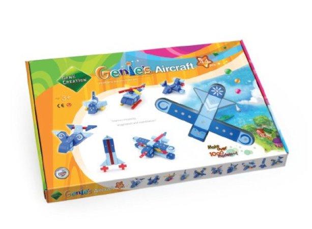 Magformers Stavebnice Magformers - Genies letadla