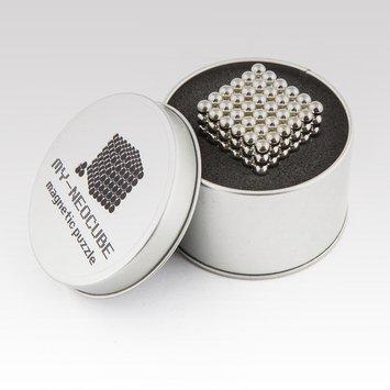 Rebelie Neocube 5 mm Exclusive - stříbrný