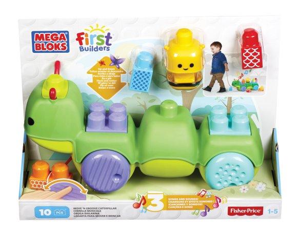 Mattel Stavebnice Mega Bloks First Builders Housenka objevitelka