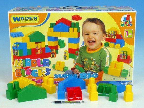 WADER Stavebnice - Middle Block Super Big