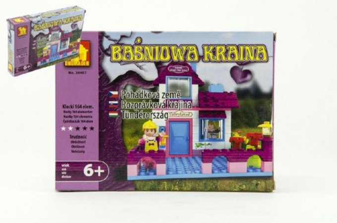 Dromader Stavebnice pro holky - 164 ks