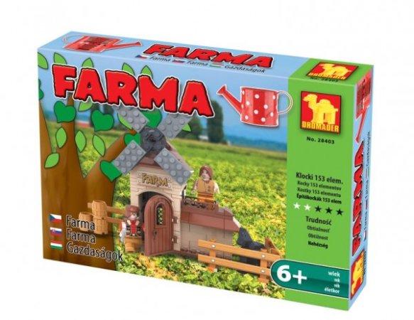 Dromader Stavebnice Farma - 153 ks