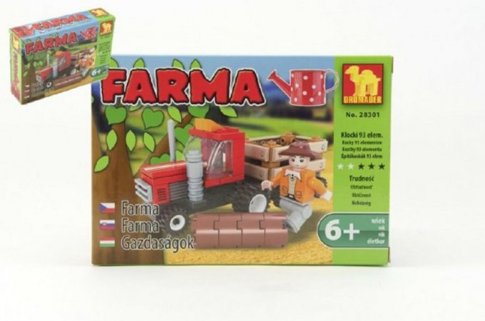 Dromader Stavebnice Farma - 93 ks