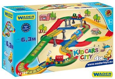 WADER Kid Cars Městečko - 6,3 m