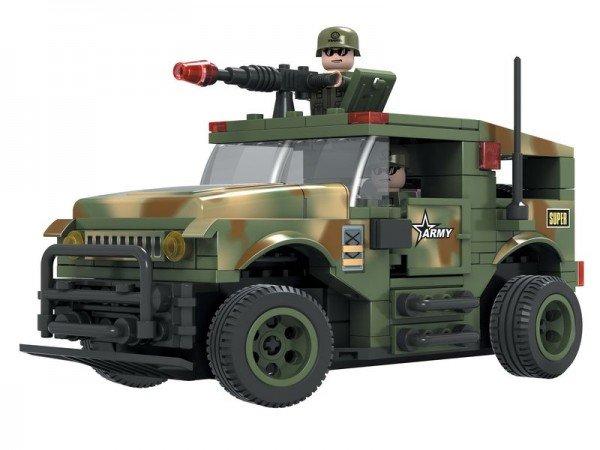 Dromader Stavebnice RC Auto Vojáci - na vysílačku