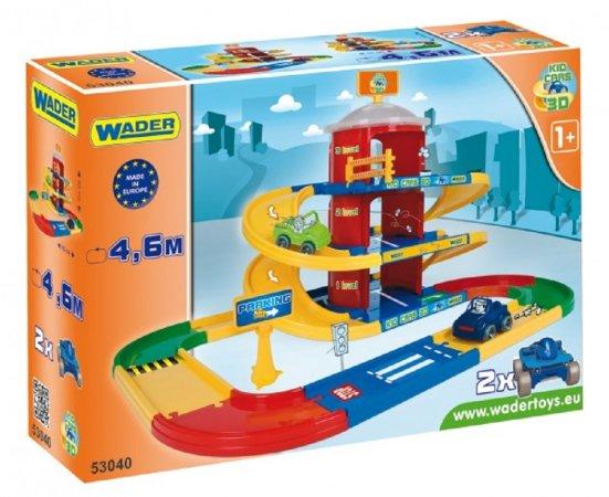WADER Kid cars 3D parkoviště 2 patra - 4,6 metrů
