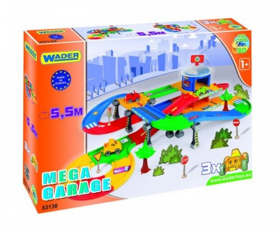 WADER Kid Cars 3D Garáž - 5,5 m