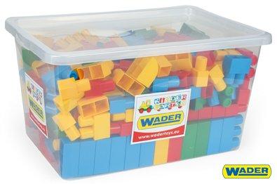 WADER Stavebnice kostky Middle Block - 240 ks