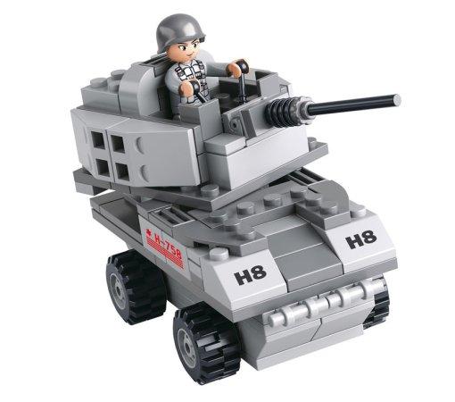 EP Line Stavebnice Sluban - Armored car 3v1