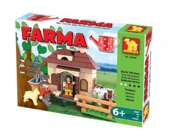 Dromader Stavebnice Farma - 168 ks