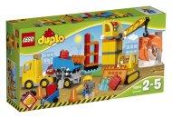 LEGO Duplo 10813 - Velké staveniště