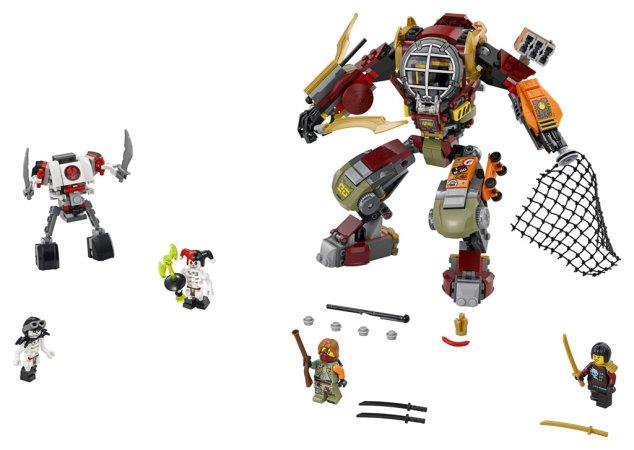 LEGO NINJAGO 70592 - Robot Salvage M.E.C. - Výprodej