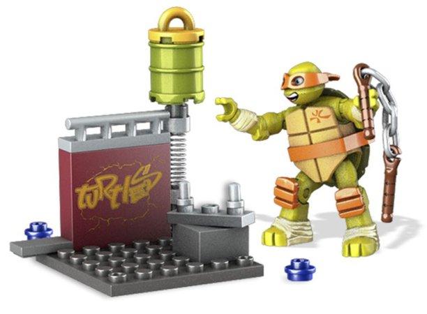 Mattel Mega Bloks Želvy Ninja - Pouliční trénink