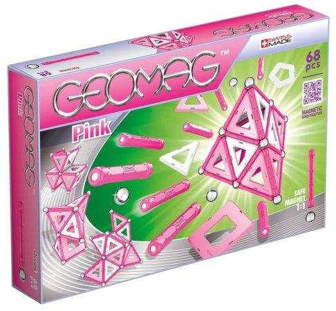 Geomag Stavebnice Pink 68 pcs