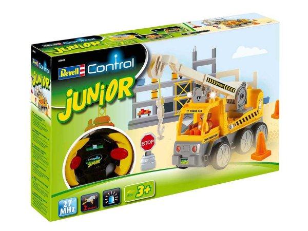 Revell Autíčko JUNIOR - Crane Truck - 27 MHz