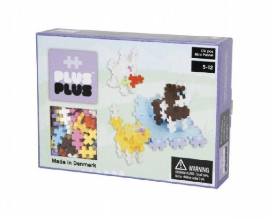 Mikro trading Stavebnice Plus-Plus Mini pastel - Zvířátka