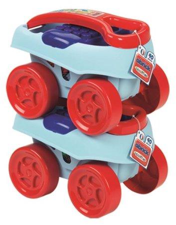 Ecoiffier Abrick Maxi vozík s kostkami - 40 ks