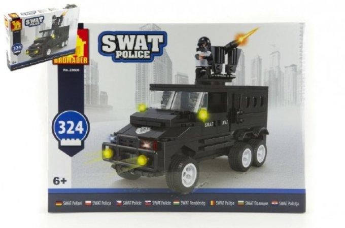 Dromader SWAT Policie auto - 324 dílků