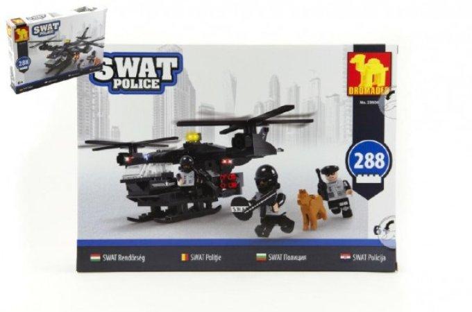 Dromader SWAT Policie helikoptéra - 288 dílků