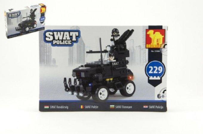 Dromader SWAT Policie auto - 229 dílků