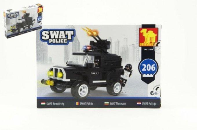Dromader SWAT Policie auto - 206 dílků