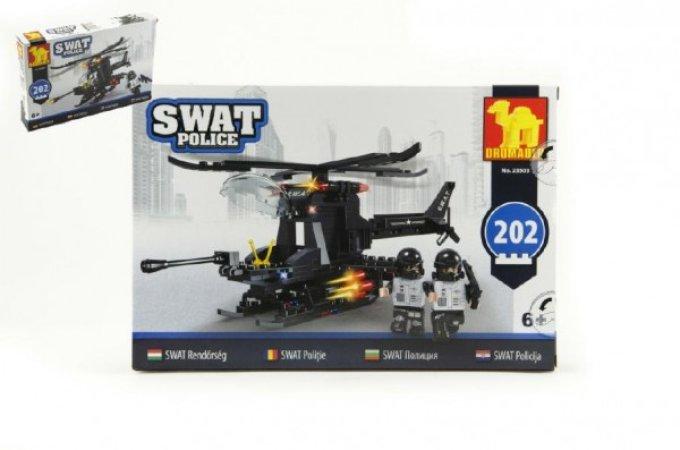Dromader SWAT Policie helikoptéra - 202 dílků