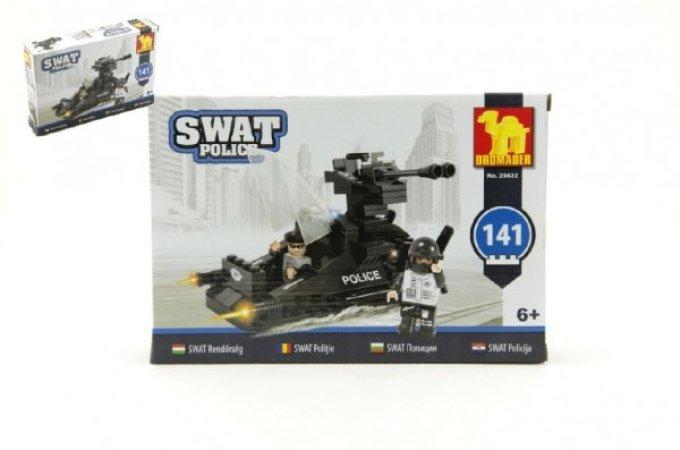 Dromader SWAT Policie člun - 141 dílků