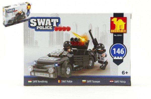 Dromader SWAT Policie auto - 146 dílků