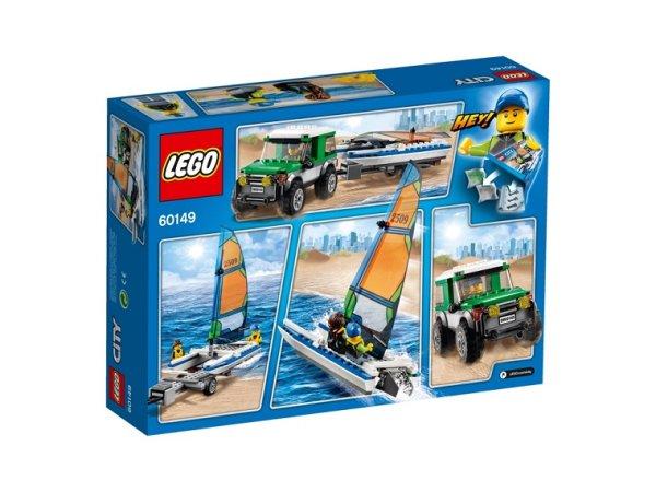 LEGO City 60149 - 4x4 s katamaránem - Výprodej poslední kus