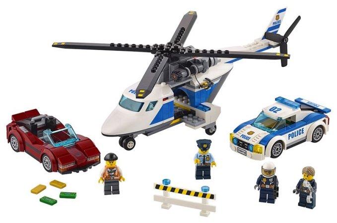 LEGO City 60138 - Honička ve vysoké rychlosti