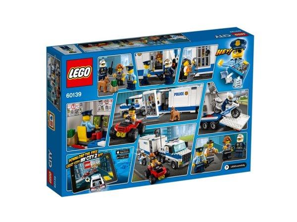 LEGO City 60139 - Mobilní velitelské centrum
