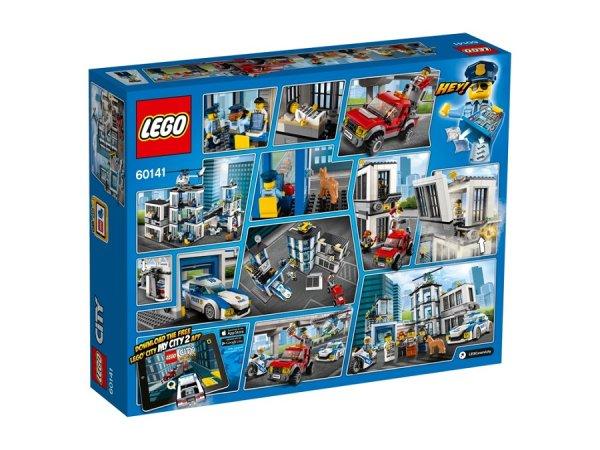 LEGO City 60141 - Policejní stanice