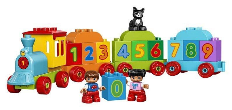 LEGO Duplo 10847 - Vláček s čísly