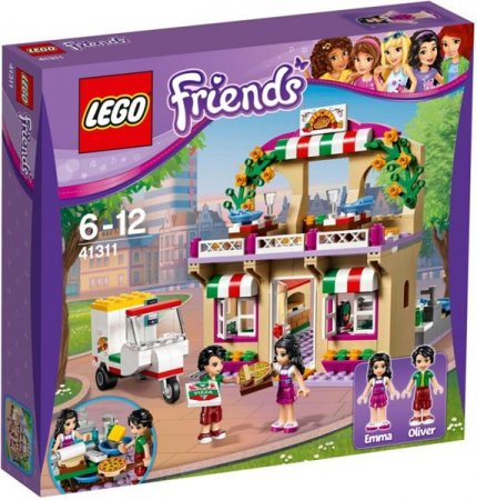 LEGO Friends 41311 - Pizzerie v městečku Heartlake