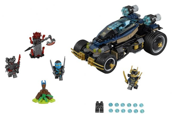 LEGO Ninjago 70625 - Samuraj VXL