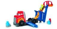 Mattel Mega Bloks - Auto s výsuvnou dráhou