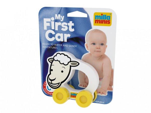 Millaminis Moje první autíčko - Domácí zvířátka - Ovečka