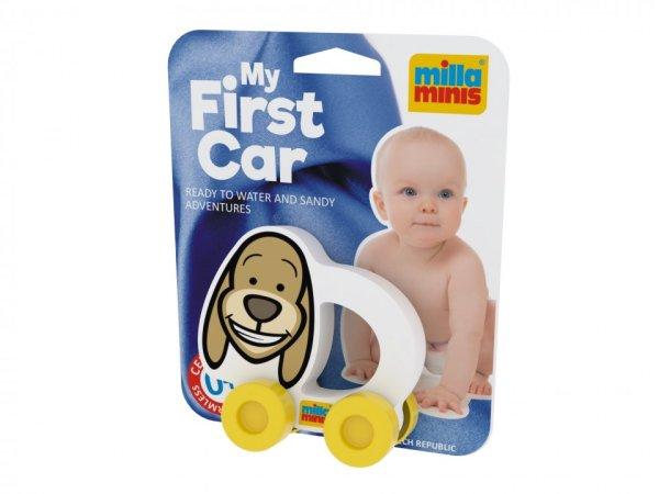Millaminis Moje první autíčko - Domácí zvířátka - Pejsek