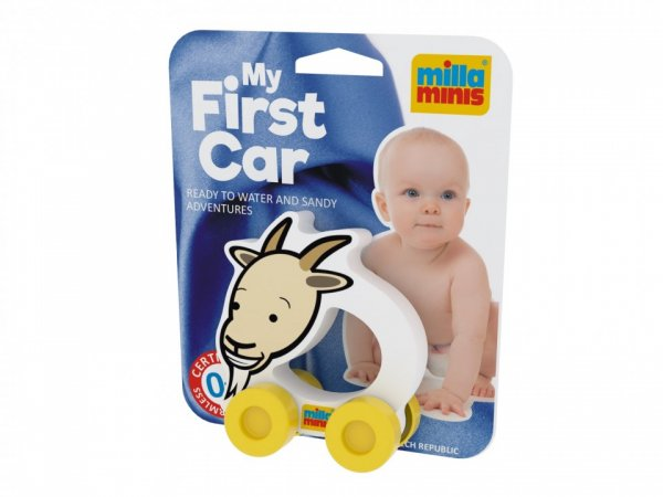 Millaminis Moje první autíčko - Domácí zvířátka - Koza