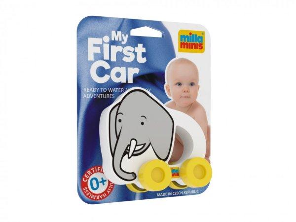 Millaminis Moje první autíčko - Africká zvířátka - Slon