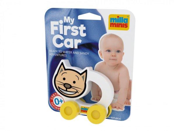 Millaminis Moje první autíčko - Domácí zvířátka - Kočička