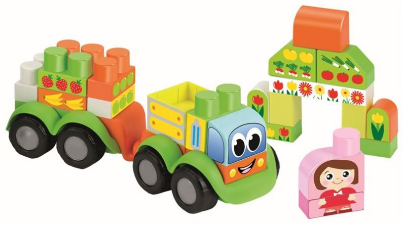 Ecoiffier Abrick Maxi - Moje první nákladní auto