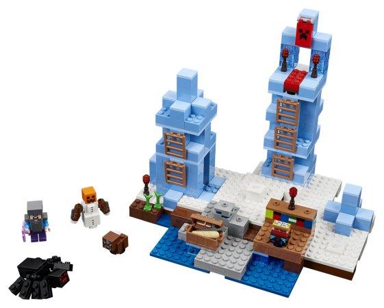 LEGO Minecraft 21131 - Ledové ostny