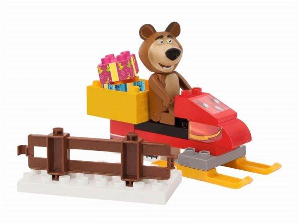 Big PlayBig Bloxx Máša a medvěd - Míša se skútrem
