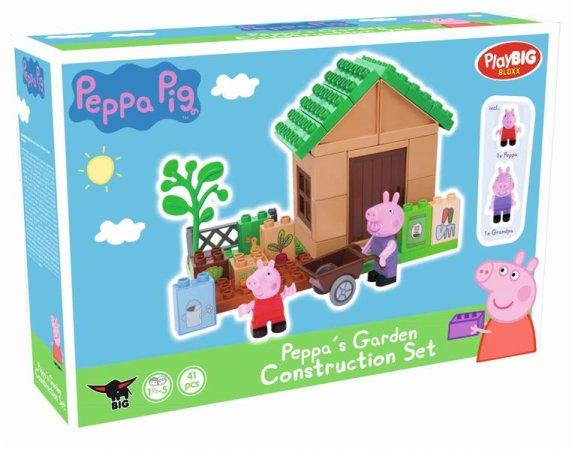 Big PlayBig Bloxx - Peppa Pig - Zahrádka