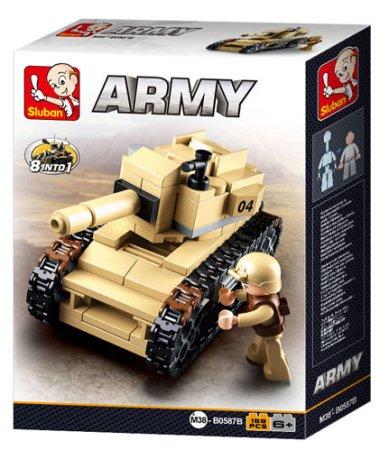 EP Line Tank - 158 dílků