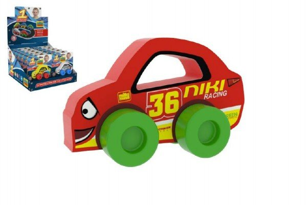 Millaminis Moje první závodní auto - Niki 36 - červené